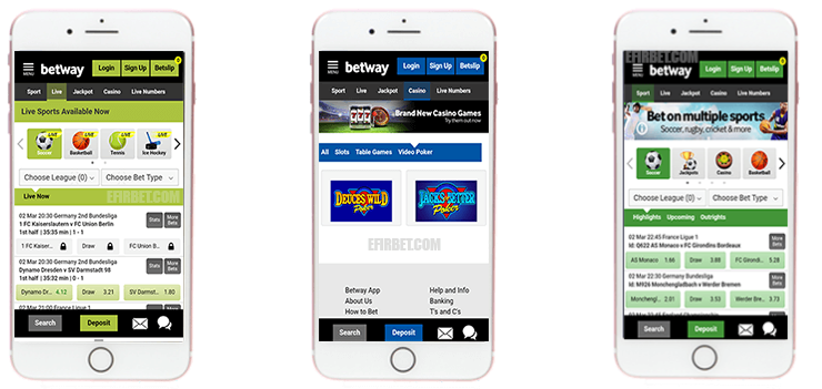 register with Betway.com