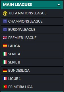 Main Leagues on 1960Bet