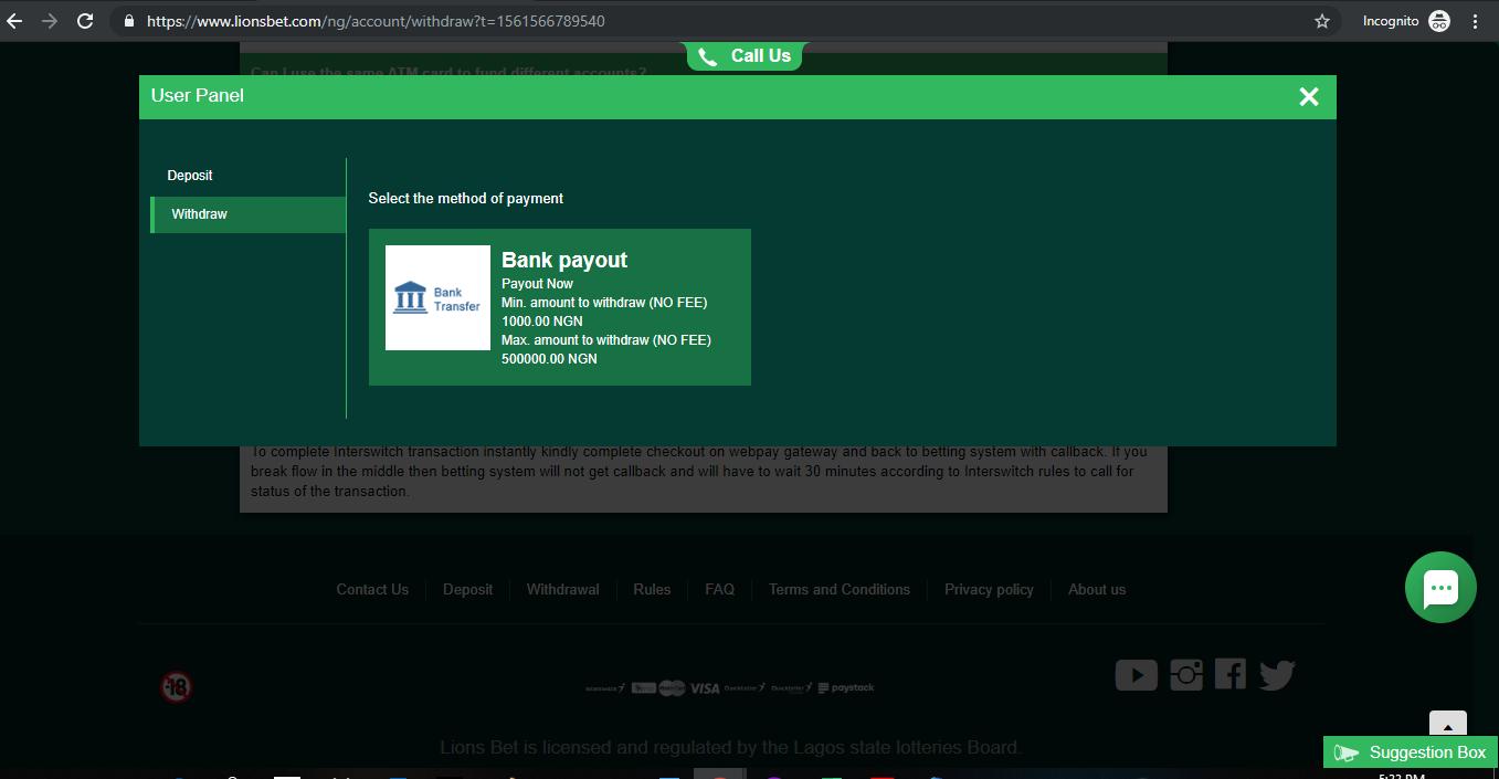 Enter your correct financial details