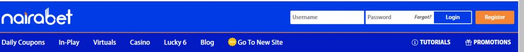 Visit Nairabet website